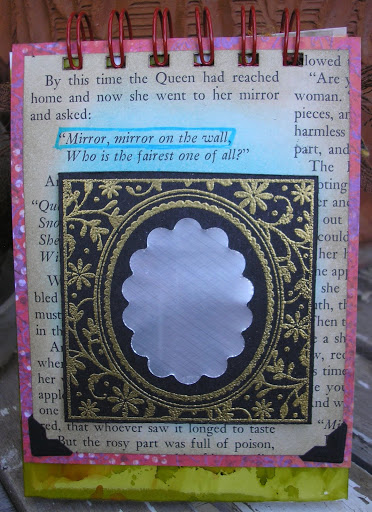 Guest designer project for The Altered Alice Chapter 7 Week 2: Text as nonsense